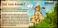 We all know how Lakshmana was brought back to life by Hanuman's courage and determination to help Lord Ram. As Diwali gets closer, here's another snippet from the Ramayana to remind us that faith can indeed move mountains Hit like if you knew this little tidbit of info from this famous Indian epic!