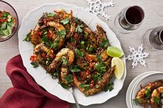This barbecued Creole-style prawns recipe is the perfect dish for entertaining.