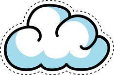 Cloud Outline, Image Cloud, Cartoon Clouds, Cloud Vector, Cute Cartoon, Background Images, Clip Art, Symbols, Free