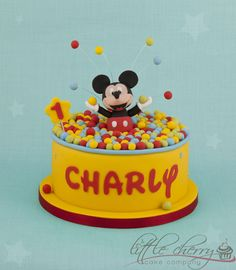 Mickey Mouse Cake — Super Heroes / Cartoon Characters