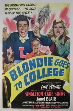 Blondie Goes to College (1942 - written by Bruckman, Wilson and Breslow)