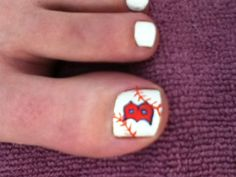 Red Sox toesies for the next game I go to Baseball Nails, Football Nails, Red Sox Baseball, Red Sox Nation, Hey Good Lookin, Sporty Girls, Girls Socks, My Socks, Boston Red Sox