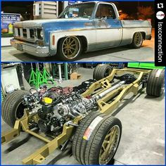 Roadster Shop: Here's how a squarebody should sit! ・・・ Truckin Tuesday @mikeymaysmith 1974 Sierra Grande ...