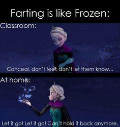 frozen humor | Frozen humor :)