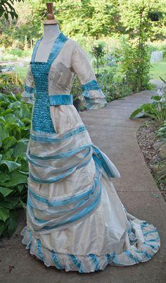 1880 ANTIQUE DRESS LABEL SWISS GENEVA STRIPED PINA CLOTH MUSEUM DE-ACCESSIONED   eBay