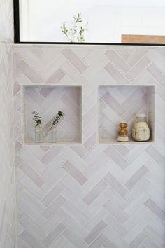 Ceramic Tile Bathrooms, Bathroom Niche, Shower Niche, Loft Bathroom, Shower Tiles, Upstairs Bathrooms, Basement Bathroom, Washroom, Master Bathroom