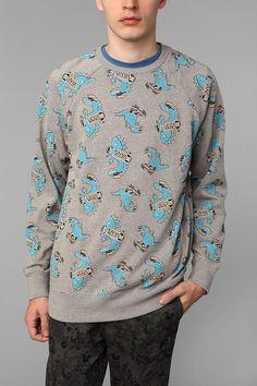 Vans Dinosaur Crew Sweatshirt