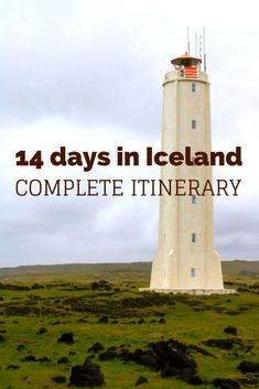 14 days itinerary in Iceland