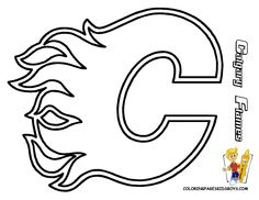 vancouver canucks coloring pages - vancouver canucks canadian hockey coloring drawings