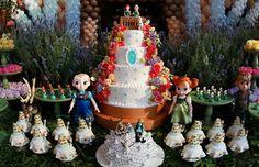 Tema Frozen Fever! #cake #frozenfever