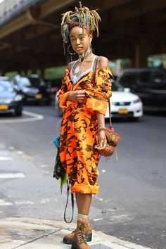 Cheap High Fashion Women S Clothing Black Girl Magic, Black Girls, Black Women, Afro Punk Fashion, 70s Fashion, High Fashion, Black Hippy, Mode Boho, Black Girl Aesthetic