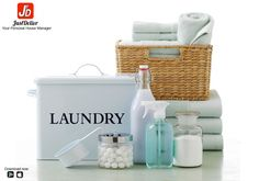 Buy Laundry Supplies from JustDelivr and Enjoy Effective Cleaning