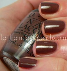OPI Holland Collection ~ Wooden-Shoe like to Know?
