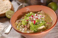 Pozole verde de puerco | Cocina y Comparte | Recetas
