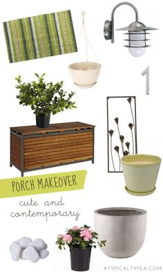 Porch makeover inspiration with @Kerry Masters Home Improvement