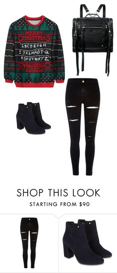 """""""Happy stranger things Christmas"""" by bellapaige-clxxi on Polyvore featuring River Island, Monsoon and McQ by Alexander McQueen"""