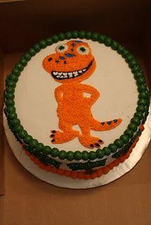 Dinosaur Train Cake - Buddy