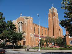 Immaculate Heart of Mary Church (1931); 2805 Fort Hamilton Pkwy.  Windsor Terrace, Brooklyn