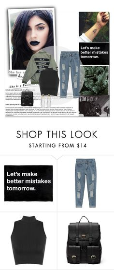 """""""#317"""" by blacksky000 ❤ liked on Polyvore featuring Chicnova Fashion, WearAll, Sole Society and Converse"""