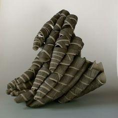 Untitled Agnes Husz [Ceramic + Porcelain ] 2009. colored clay, unglazed