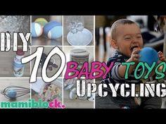 10 Babyspielzeuge kostenlos und schnell selbst gemacht | DIY und Upcycling baby toys | mamiblock - YouTube