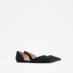 Image 3 of D'ORSAY FLATS WITH METAL DETAIL from Zara