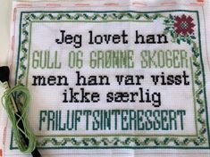 Creative Crafts, Diy And Crafts, Needlework, Stitches, Qoutes, Cross Stitch, Diagram, Embroidery, Humor