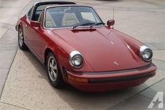 1974 PORSCHE 911 TARGA RED CLASSIC RARE WELL MAINTAINED JUST TUNED & SERVICED!  This is a great example of the coveted 1974 Porsche 911 Targa. Just serviced and tuned by classic Porsche master mechanic.  Exterior paint is Red in very good condition. Passenger compartment features Tan interior. The classics created by Porsche in the 1970s are becoming increasingly sought after by both enthusiasts and serious collectors worldwide.