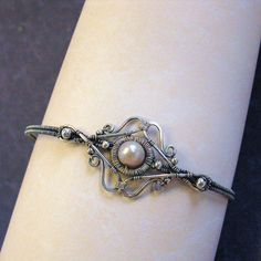 Lily- bangle bracelet | Flickr - Photo Sharing!