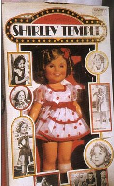 Always wanted a Shirley Temple doll when I was a little girl...