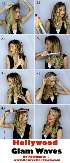 How to get 1920's Hollywood Glam Waves | Desiree Hartsock
