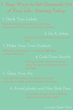 How To Go Chemical Free Easily and Effectively. Deciding to go chemical free is…