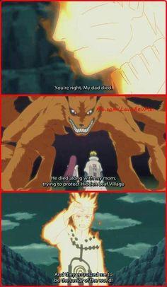 Naruto's words to the Raikage A, and Lady Tsunade, the Hokage, trying to convince them to let him, and Killer Bee join the War to protect his friends and the Shinobi world Naruto Uzumaki, Itachi, Naruto Sasuke Sakura, Naruto Art, Anime Naruto, Anime Manga, Gaara, Naruhina, Kid Kakashi