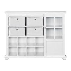 Homecharm-Intl HC-032 Laundry Wall Cabinet/Medicine Cabinet,White ...