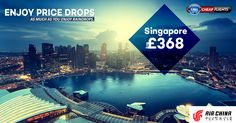 Enjoy price drops as much as you enjoy raindrops.  |    Airline: Air China ✈  |    Singapore Fr 👉 £368  |    ☎ Call Now: 0203 811 2447  |   💻 Visit Us: http://www.callcheapflights.co.uk/  |    #callcheapflights #singapore #travel #flights #airchina #flightoffers