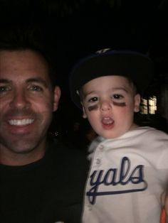 Of course Owen was a Royals player for Halloween!