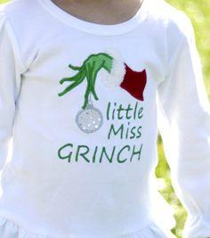 little miss Grinch