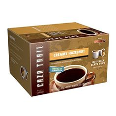 Caza Trail Coffee, Donut Shop Blend, 100 Single Serve Cups (Packaging May Vary) - Excellent product at a great price.This Caza Trail that is ranked 4153 in the Coffee K Cups, Coffee Pods, Coffee Beans, Best K Cups, Trail, Kona Coffee, Coffee Cake, Coffee Store, Single Serve Coffee