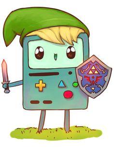 Adventure Time/Legend of Zelda,, cutie
