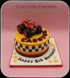 blaze cake: 20 тыс изображений найдено в Яндекс.Картинках Blaze And The Monster Machines Cake, Blaze Cakes, Monster Truck Birthday Cake, Birthday Cake Pinterest, Boy Birthday Parties, 3rd Birthday, Birthday Ideas, Planes Cake, Themed Cakes