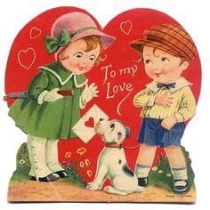Vintage Valentine Love & Homemade Cards at Mom Spark! - Dream a Little Bigger