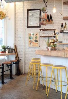 photo courtesy of petite passport - Multi Cafe Decoration