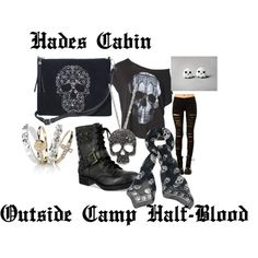 """""""Hades Cabin Outside Camp Half-Blood"""" by greekfreak-69 on Polyvore"""