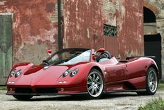 Pagani Zonda Roadster- this is kind of a fabulous car!!