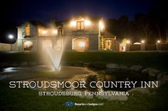 Legendary hospitality can be found here at the Stroudsmoor Country Inn, sitting atop its own 200-acre mountain in the beautiful Poconos. - http://www.resortsandlodges.com/lodging/usa/pennsylvania/pocono/stroudsmoor-country-inn.html -