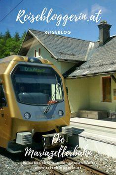 Von St.Pölten bis nach Mariazell führt die Mariazellerbahn. Sie wird auch Himmelstreppe genannt. #mariazellerbahn #himmelstreppe #niederösterreich Heart Of Europe, Short Trip, Trips, Events, Europe, Round Trip, Road Trip Destinations, Travel Report, Travel Inspiration