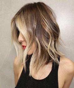 Medium Layered Hairstyles Haircut  Cute Medium Mid Length Layered Hairstyle Caramel