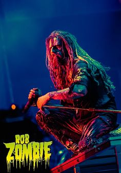 Rob Zombie in Argentina Rob Zombie Art, Zombie Live, Heavy Metal Music, Heavy Metal Bands, Zombie Movies, Horror Movies, Festivals In July, Sheri Moon Zombie, White Zombie