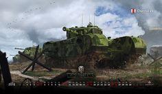 2016年6月デスクトップ壁紙: Churchill VII | 一般ニュース | ニュース | World of Tanks | World of Tanks