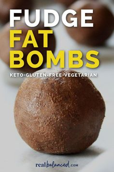 These Fudge Fat Bombs are the ultimate ketogenic dessert to satisfy your sweet tooth! This recipe is keto, low-carb, paleo, grain-free, gluten-free, dairy-free, vegetarian, vegan, and refined-sugar-free, and contains only 1.4 grams of net carbs per serving! #fatbomb #fatbombs #keto #lowcarb #paleo #dairyfree #glutenfree #grainfree #paleoketo #dairyfreeketo #ketodessert #lowcarbdessert Ketogenic Desserts, Low Carb Desserts, Dessert Recipes, Grain Free, Dairy Free, Best Chocolate Desserts, Fat Bombs, Fudge, Glutenfree